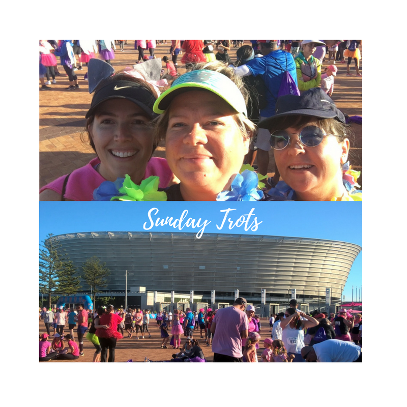Sunday Trots – we laced up for Cancer